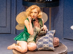 Kitty Archer in Present Laughter. Photo by Manuel Harlan.