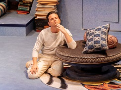 Andrew Scott in Present Laughter. Photo by Manuel Harlan.