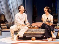 Andrew Scott and Indira Varma. Photo by Manuel Harlan.
