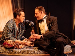 Andrew Scott and Enzo Cilenti in Present Laughter. Photo by Manuel Harlan.