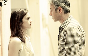 Ruth Wilson and Ivo van Hove in rehearsals for Hedda Gabler