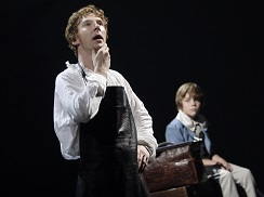 Victor Frankenstein (Benedict Cumberbatch) and William Frankenstein (Haydon Downing).