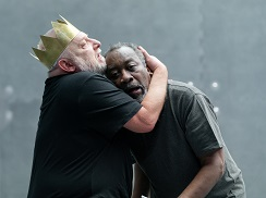 Simon Russell Beale and Joseph Mydell. Photo by Marc Brenner.