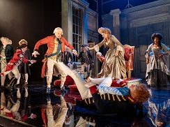 Mark Gatiss, Debra Gillett, Wilf Scolding and the cast of The Madness of George III